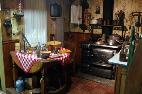 turn   century kitchens google search  reference   actual miniature