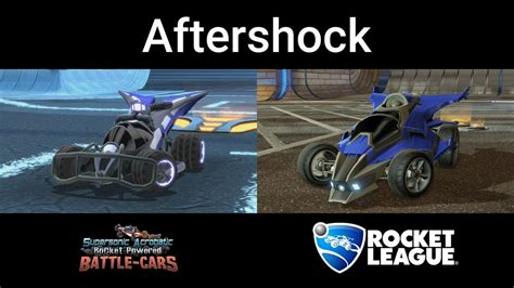 Rocket Leaguze Garage by Rocket League Garage On Quot Aftershock 10 Years