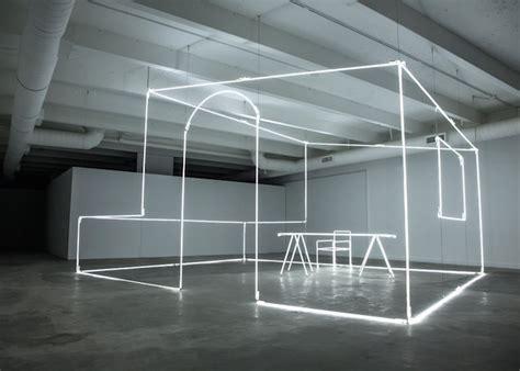 minimal light installations by massimo uberti ignant de
