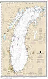 Lake Michigan Nautical Charts