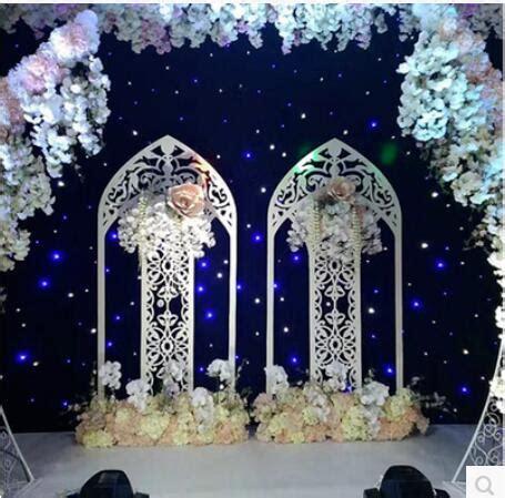 wedding iron england screen fan arch arches wedding