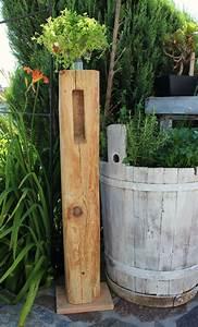 Säulen Aus Holz : gs54 dekos ule f r innen und aussen dekos ule aus altem holz ca 150 jahre aus einer alten ~ Orissabook.com Haus und Dekorationen