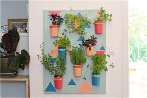 diy couleurs et senteurs un mur de plantes aromatiques