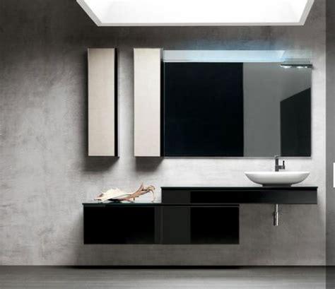 Moderne Italienische Badmöbel by Badezimmerm 246 Bel Linien Schwarz Hochglanz Artesi Wohnen