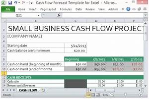 cash flow forecast template for excel With project forecasting template