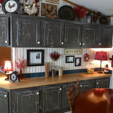 How To Crackle Paint Cabinets  Online Information