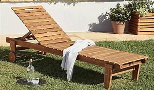 Range Outils De Jardin Castorama : meubles de jardin en bois denia de castorama design et pas chers ~ Nature-et-papiers.com Idées de Décoration