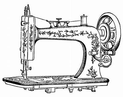 Sewing Machine Clip Antique Pretty Machines Clipart