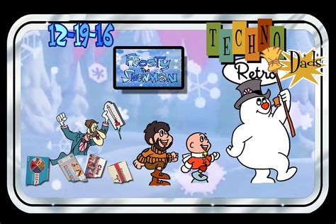Technoretro Dads Frosted Flakes Or Frosty The Snowman