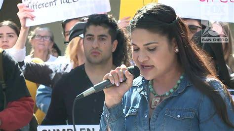 FOX 5 San Diego - Escondido rally | Facebook