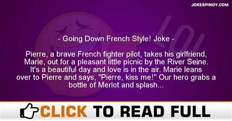 Going Down French Style! Joke - JokesPinoy.com