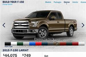 2015 Ford F 150 Online Configurator Starts Up