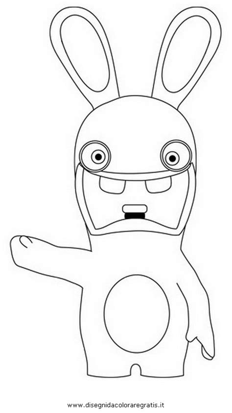 raving rabbids invasion coloring pages