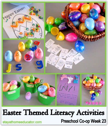 easter themed literacy activities preschool co op week 23 326 | Easter Themed Literacy Activities Preschool Co op Week 23