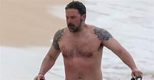 Ben Affleck Shows Off Massive Back Tattoo He Said Was ...