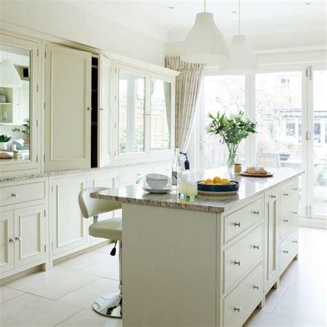 traditional white kitchen housetohomecouk