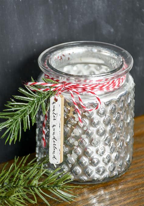 inexpensive dollar tree christmas votive
