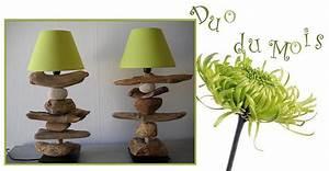 Fabriquer Une Lampe De Chevet : lampes en bois flott cr ations au fil de l 39 eau ~ Zukunftsfamilie.com Idées de Décoration