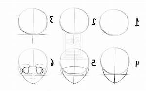 96+ How To Draw Anime Face Step By Step - Amazon Anime ...