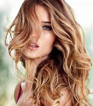 Light Brown Hair Color with Caramel Highlights