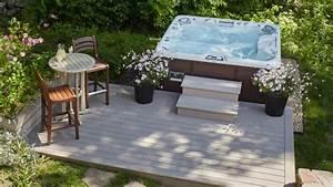 wellness fur zuhause whirlpool sauna oder dampfdusche With whirlpool garten mit bonsai erde kaufen