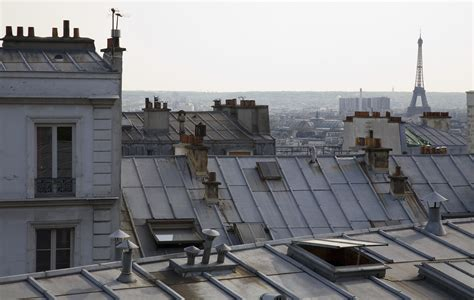 Les Jardins De Montmartre To Eiffel Tower file paris rooftops eiffel tower from montmartre