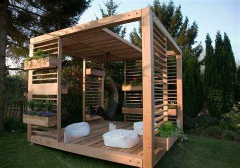 Holzlaube Selber Bauen by 20 Wundersch 246 Ne Gartenlauben Archzine Net