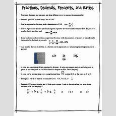 Fraction Decimals Etc  School Stuff  Pinterest  Fractions, Fun And Decimal