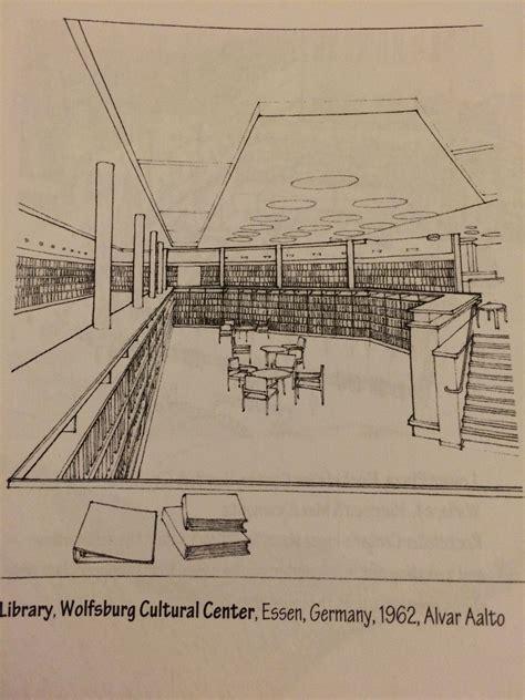 alvar aalto wolfsburg cultural centre library 1962 essen germany alvar aalto alvar aalto