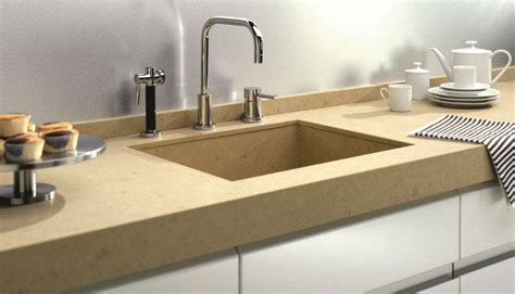 caesarstone sink kitchen caesarstone countertops in jerusalem sand 4250 give your 1950