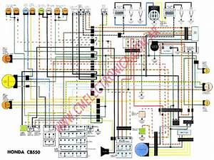 1974 Honda Cb 550 Wiring Diagram