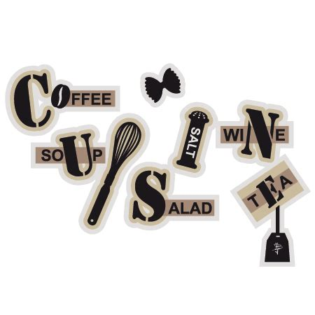 stickers cuisine texte stickers texte cuisine 2 stickers malin