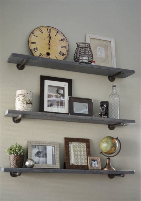 metal wall shelf loving what we live photo wall display on diy restoration