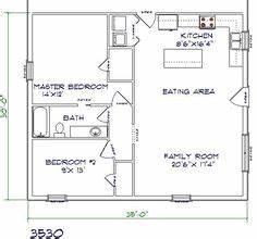 barndominium floor plans 30x40 with 2nd floor joy studio With 30x40 metal building floor plans