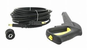 Pistolet Nettoyeur Haute Pression : kit flexible 12 m lance pistolet karcher ~ Dailycaller-alerts.com Idées de Décoration