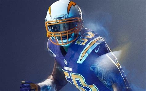 New Alternate Chargers Uniform To 'rush' Blue
