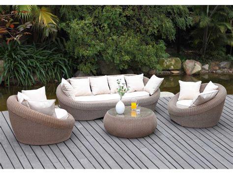 canape resine tressee exterieur salon de jardin installez vous dans nos salons de jardin