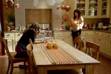 east end kitchen inside the house on the tv show quot witches of