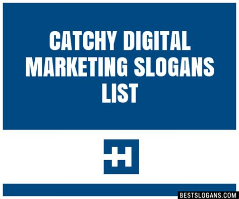 catchy digital marketing slogans list taglines
