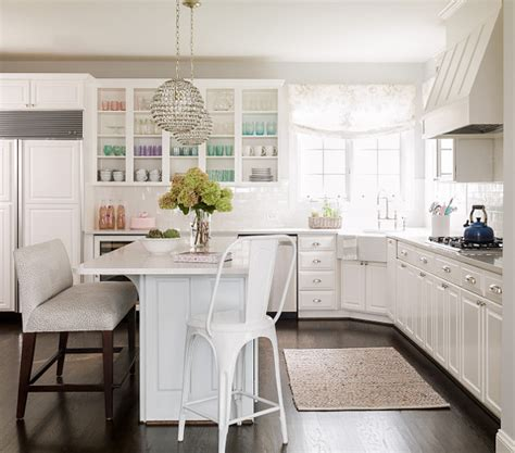 white l shaped kitchen with island family home with neutral interiors home bunch interior design ideas