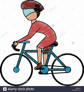 Cyclist Stock Vector Images - Alamy