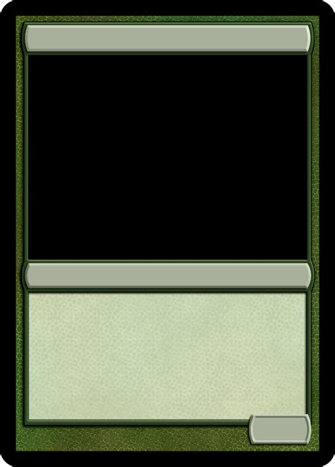 mtg monogreen creature template magic  gathering