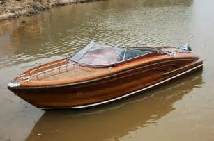 Wood Speed Boats For Sale