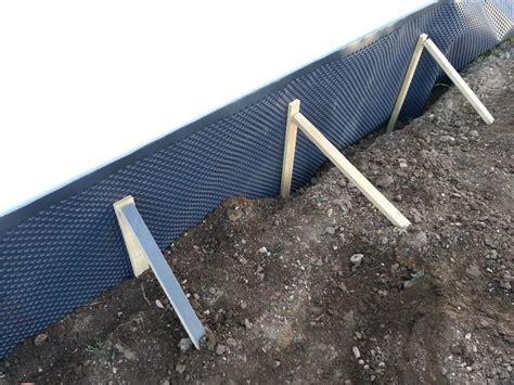 noppenbahn richtig anbringen noppenbahn f 252 r die garage wir bauen dann mal ein haus