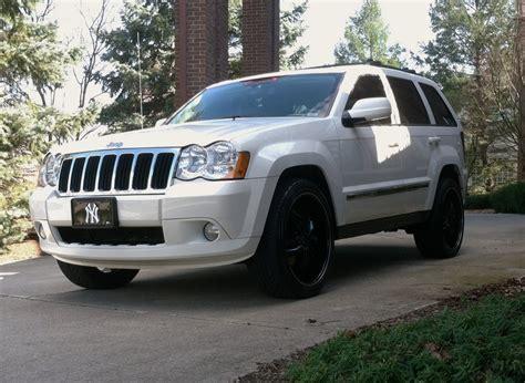 white jeep grand cherokee custom bronxbball25 2008 jeep grand cherokeelimited sport utility