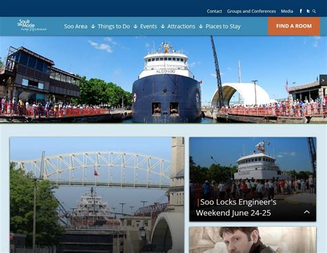 convention and tourism bureau michigan travel and tourism websites and web development