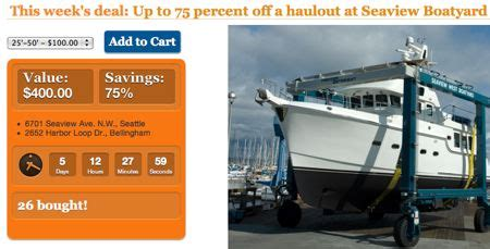 Seattle Boat Show Coupon by New Coupon Site Offers Discounts For Boating