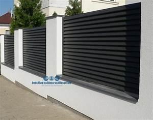 Aluminium Zaun Modern : sichtschutz wpc aluminium die neueste innovation der ~ Articles-book.com Haus und Dekorationen