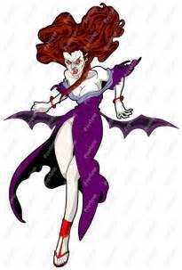 Female Vampire Cartoon Clip Art