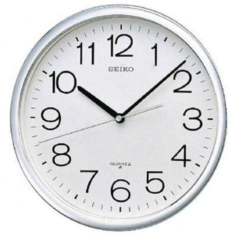 jam dinding seiko putih chrome qxa020s 36 cm elevenia